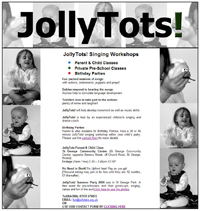 Jollytots Fun for the very young