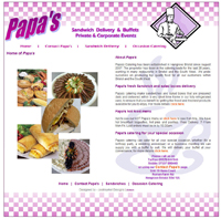 Click here to go to Papas Catering